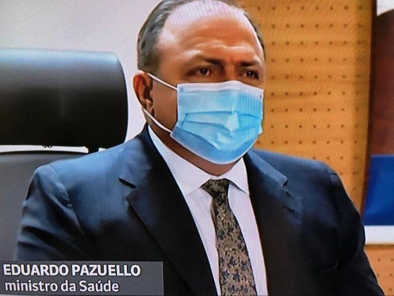 Estados poderão vacinar já nesta segunda (18), diz Pazuello