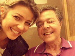 Luiza Possi parabeniza o pai, internado há dois meses com Covid-19